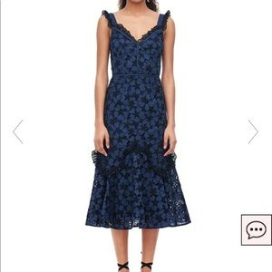 "Rebecca Taylor ""Adriana Embroidered Dress"""